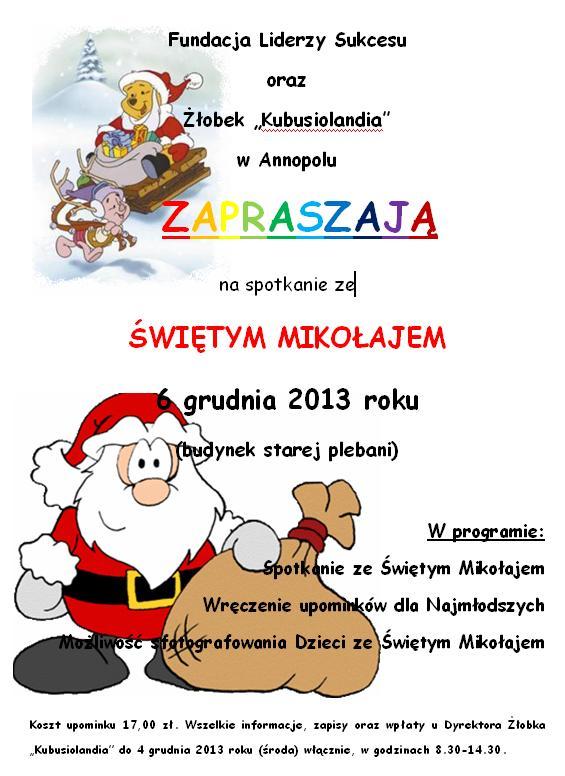 Spotkanei z Mikołajem