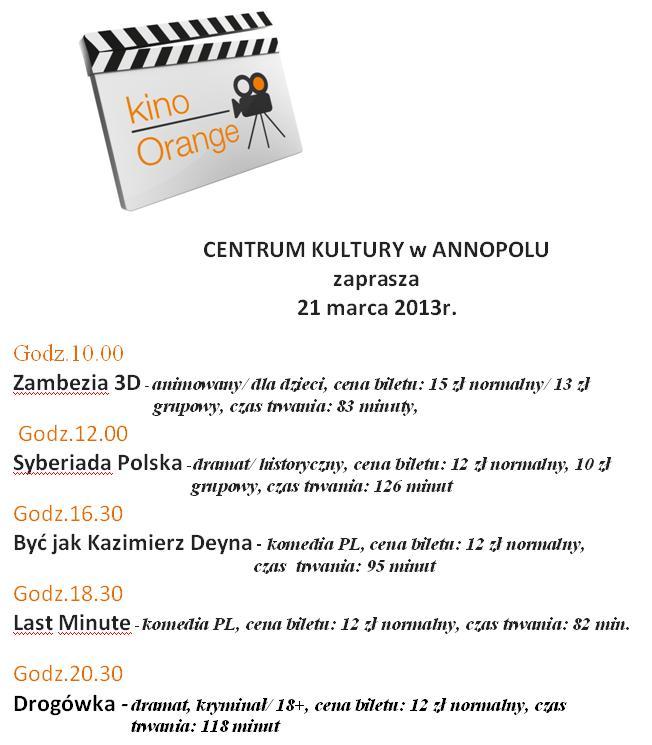 Kino - Orange