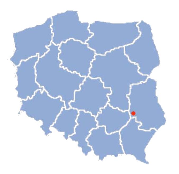 Gmina Annopol na tle Polski