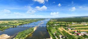 Turystyka z lotu ptaka nad Gminą Annopol - Panorama - Opoczka