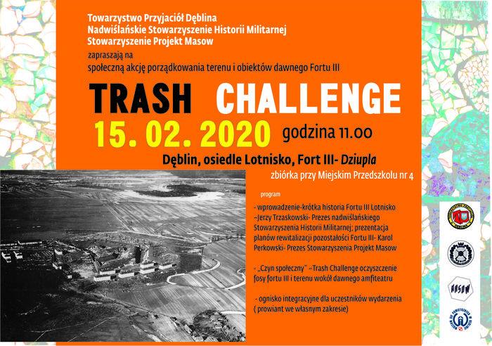 Plakat - TRASH CHALLENGE