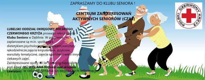Plakat - Klub Seniora