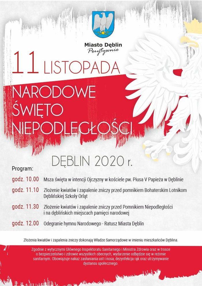 Plakat 11 listopada 2020