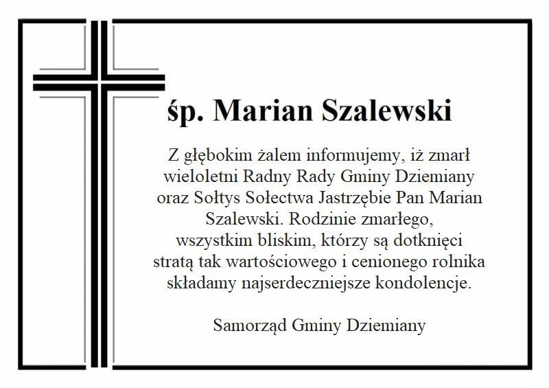 ŚP. Marian Szalewski
