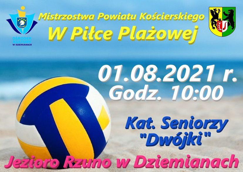 Mistrzostwa Powiatu Kościerskiego w Piłce Plażowej