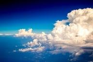 Chmury na niebie