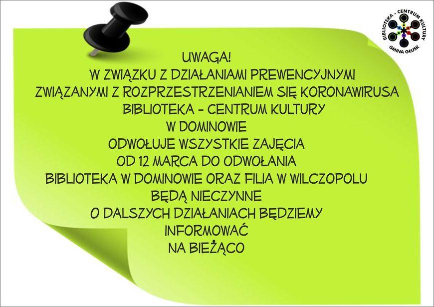 Plakat - Uwaga!