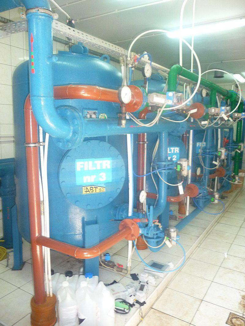 (fot. arch. GZK Głusk) stacja uzdatniania wody w prawiednikach