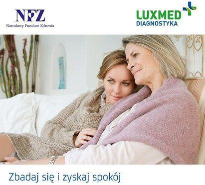 plakat promujący mammografię