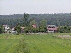 panorama Niemiec widok