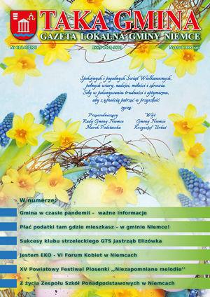 Okladka Taka Gmina Nr 01/140/2020 - Kwiaty