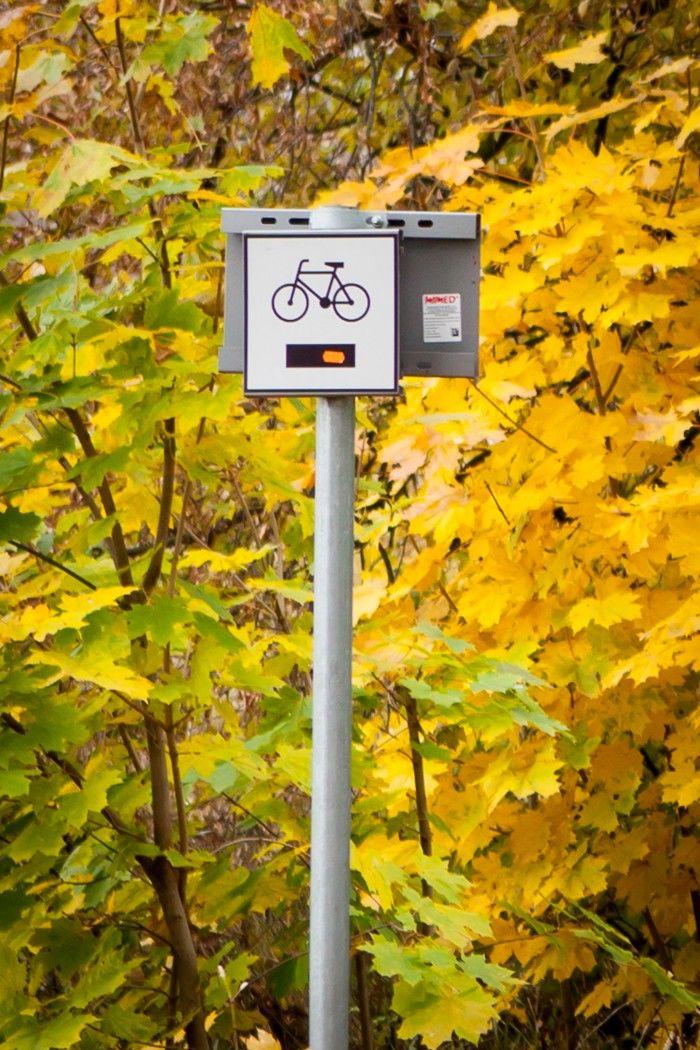 Znak ścieżka rowerowa
