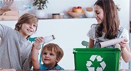 Obrazek segregacji śmieci