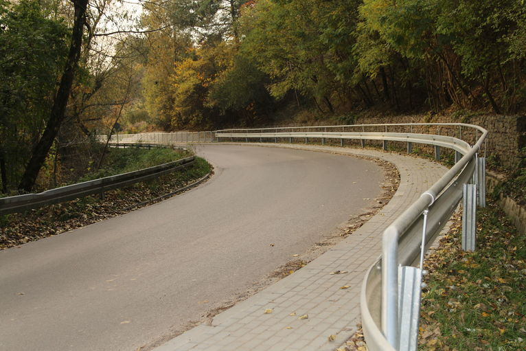 Nowy chodnik w Pliszczynie