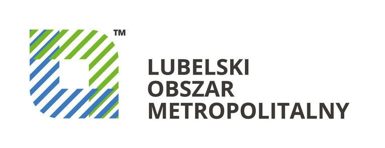 Logo Lubelskie Obszar Metropolitalny (LOM)