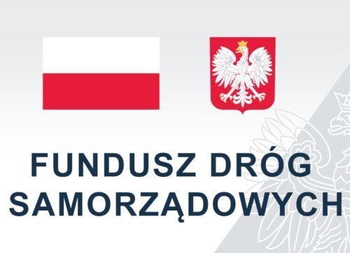 Logo Fundusz Dróg Samorządowych