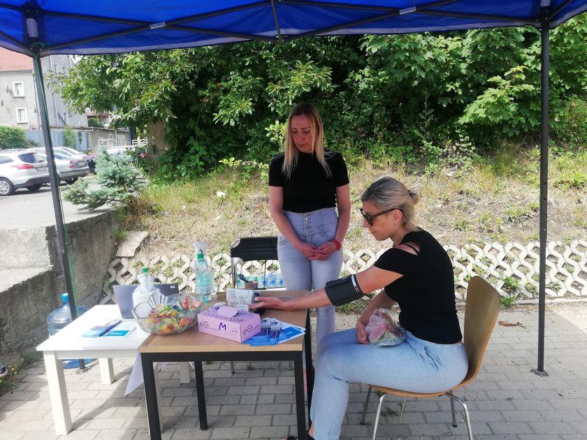 Działania promocyjne gminy Jedlina-Zdrój w ramach Narodowego Programu Szczepień.