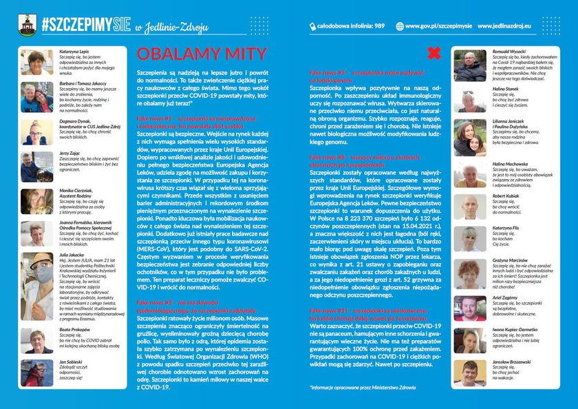 Szczepienia przeciwko COVID-19 - ważne informacje