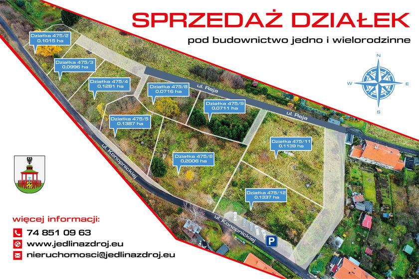 Mapa widok z drona