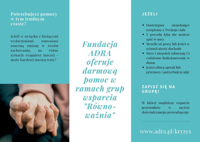 Ulotka- ADRA grupy wsparcia str.2