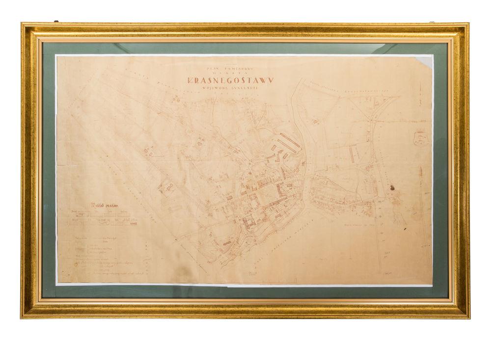 План вимірювання міста Красногоставу