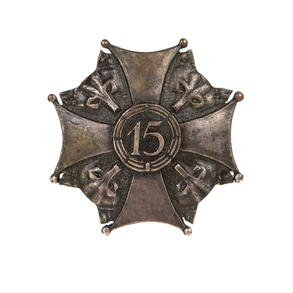 Commemorative badge of the 15th Infantry Regiment