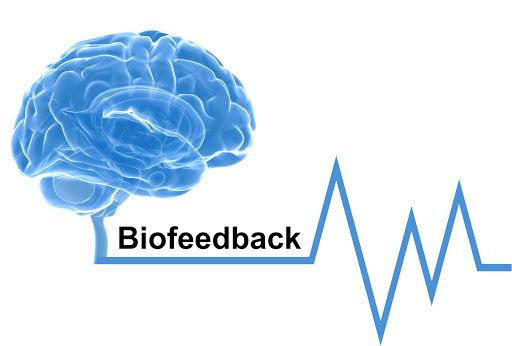 Grafika niebieski mózg z wykresem