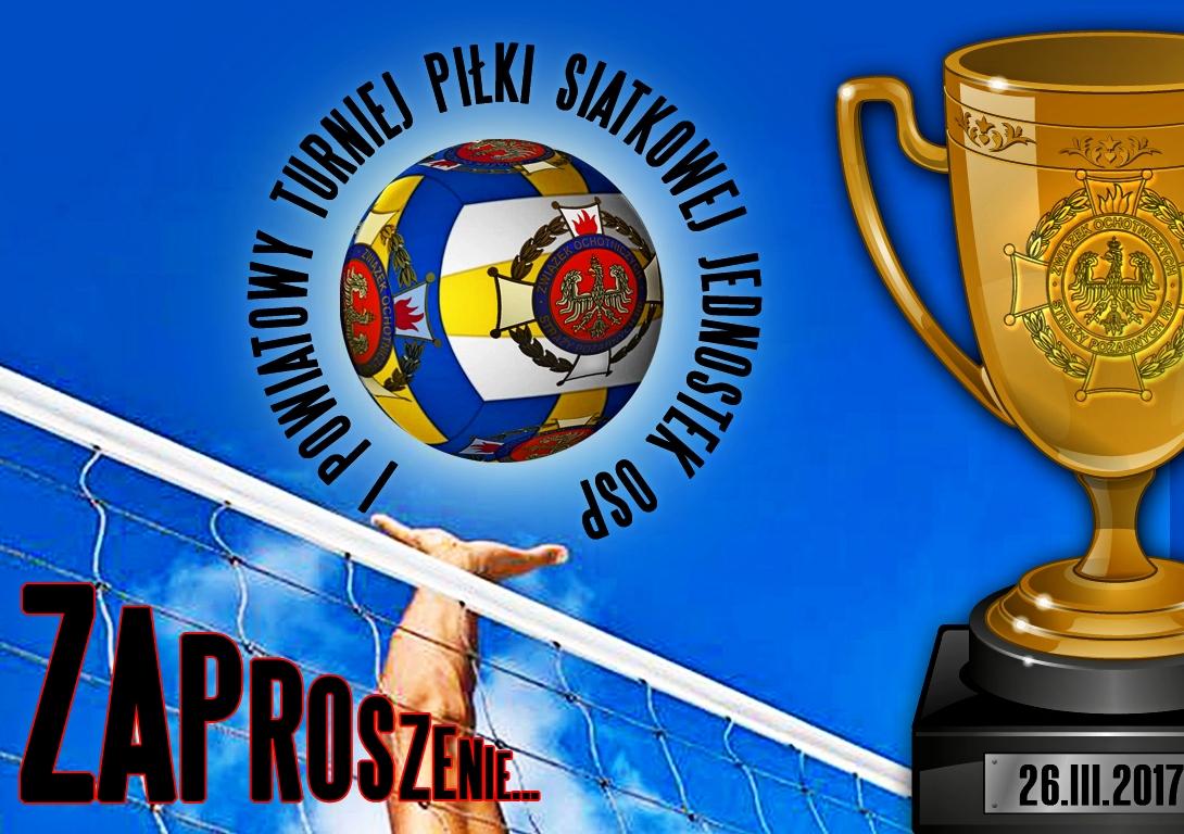 Plakat Puchar z Logo Turnieju