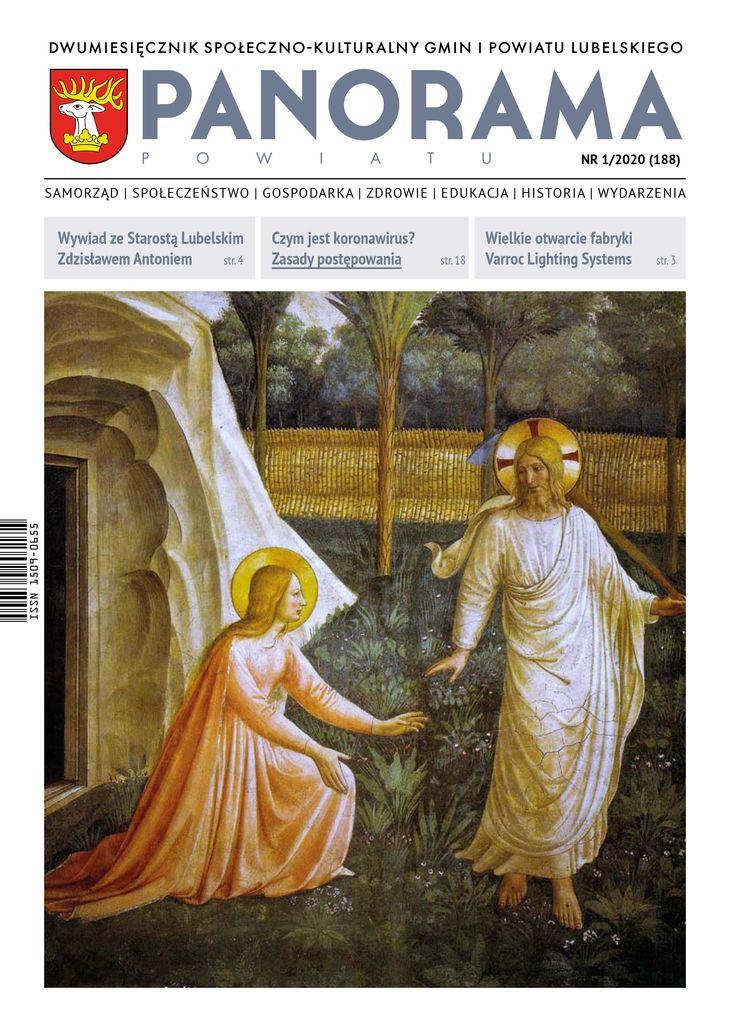 Okładka Panoramy Powiatu NR 1/2020 (188)