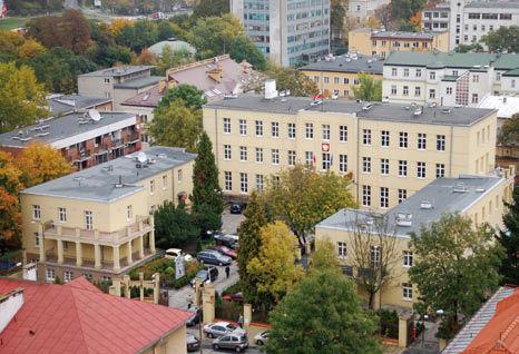 Budynek z góry