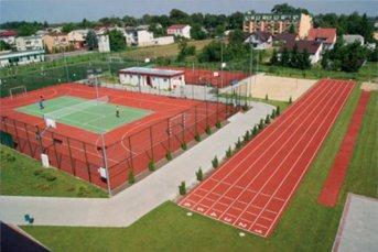 Ośrodek sportu - widok z góry