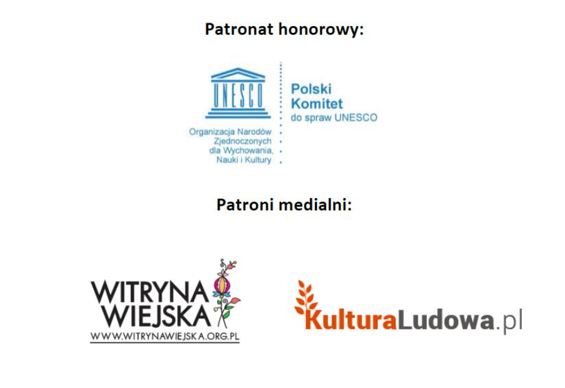 Logotypy patronów: