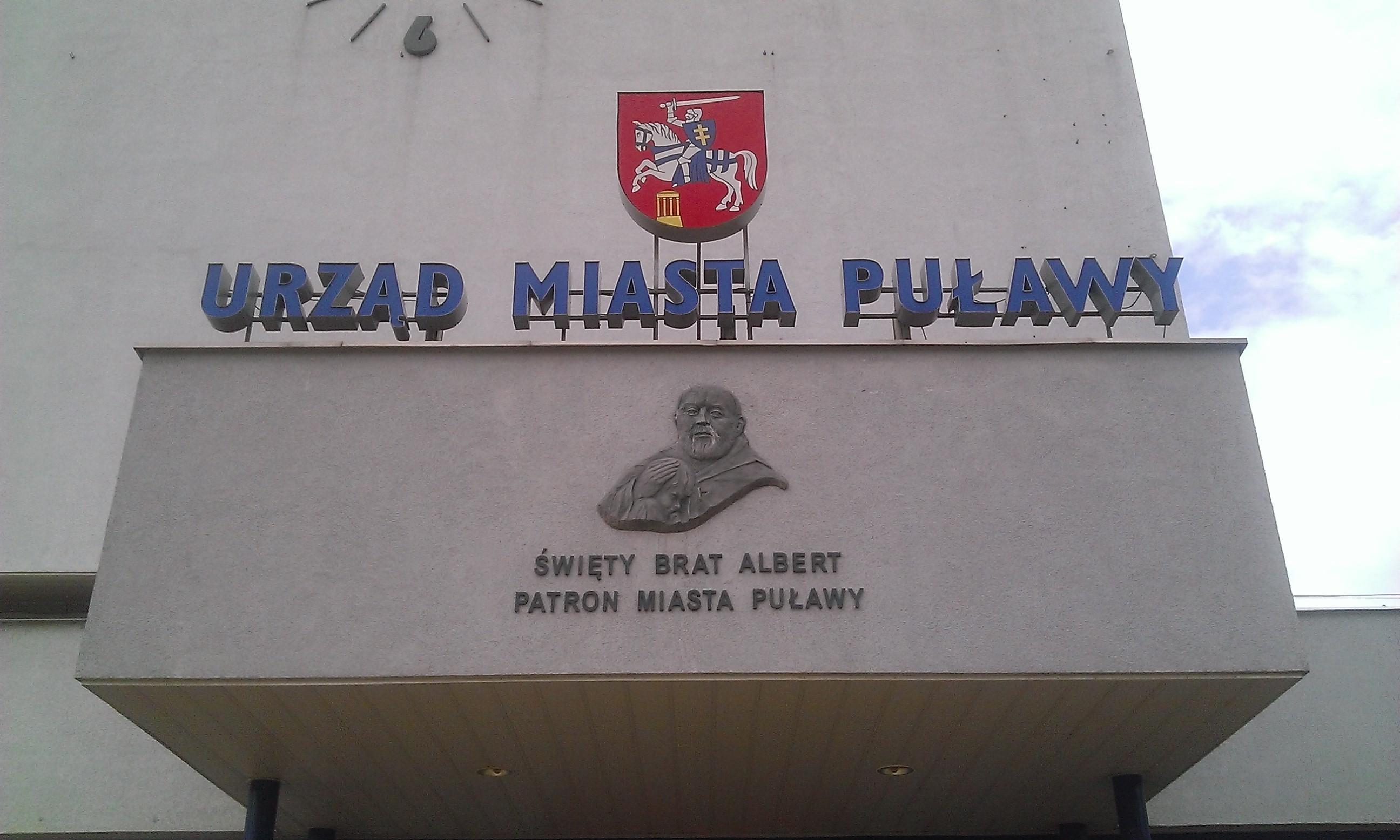 Front budynku Urzędu Miasta