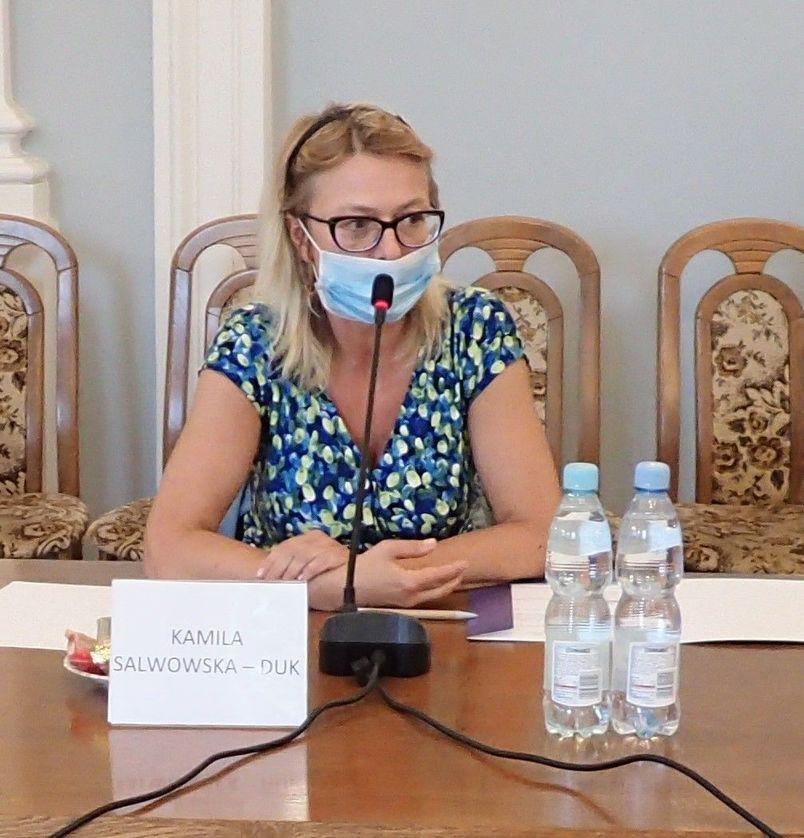 Kamila Salwowska-Duk - przewodnicząca PRDPP w Puławach kad. 2020-23
