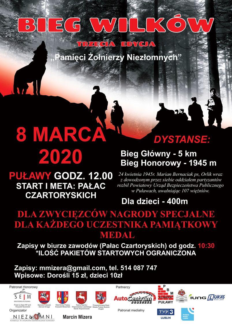 Plakat informujący o wydarzeniu.