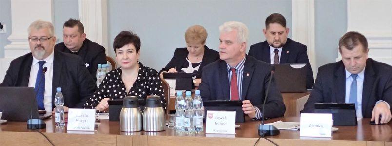 Sesja Rady Powiatu Puławskiego - Zarząd Powiatu