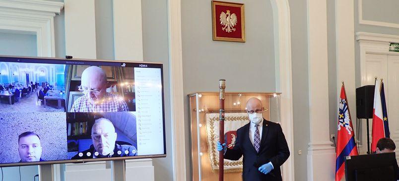 Otwarcie obrad Rady Powiatu Puławskiego