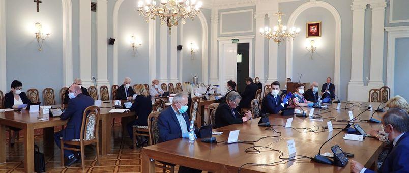 Obrady Rady Powiatu Puławskiego