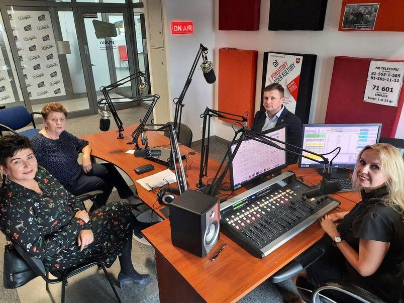 Studio nagrań w Radio Impuls
