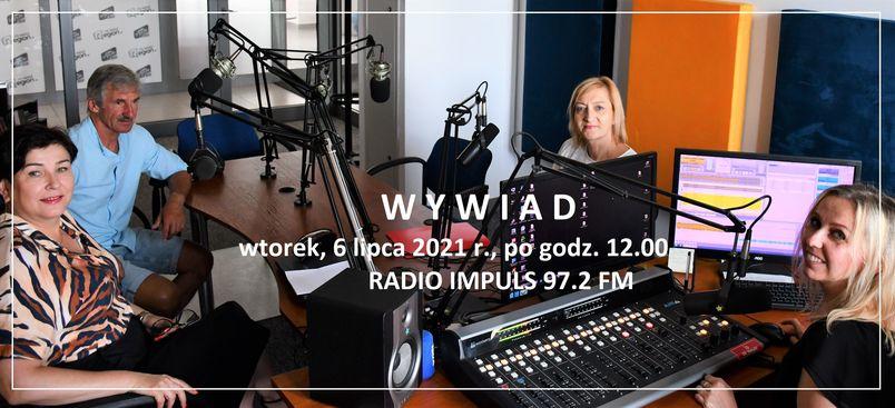 Sudio nagrań radia, wywiad, 6 lipca 2021 roku po godz. 12.00