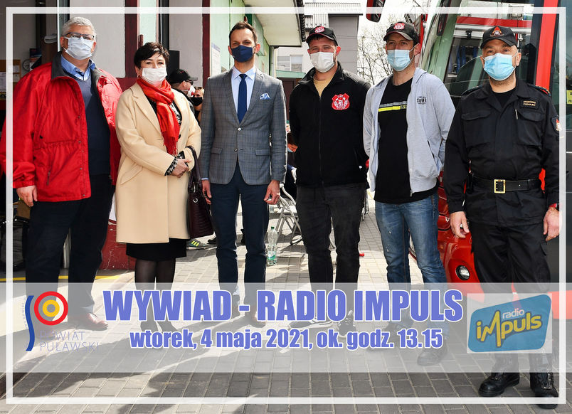 Wywiad Radio Impuls wtorek 4 maja 2021