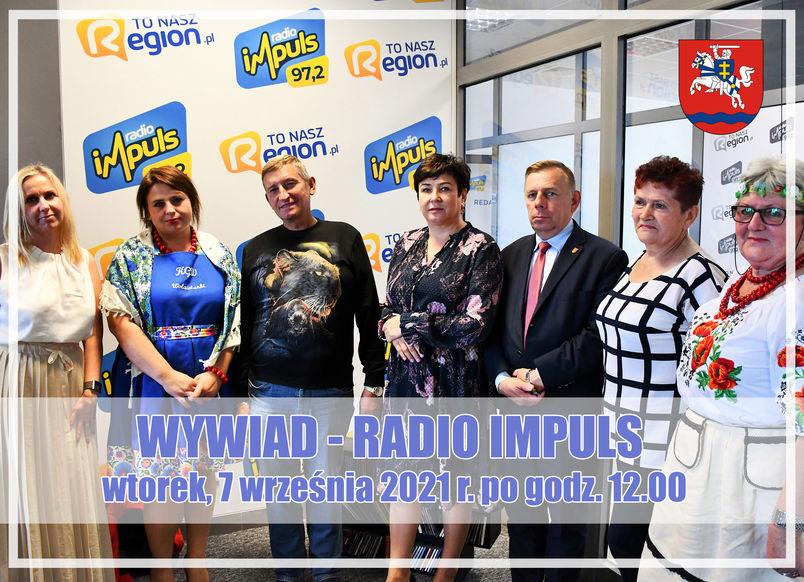 WYWIAD - RADIO IMPULS  wtorek, 8 września 2021 r. po godz. 12.00