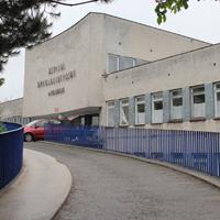 Budynek szpitala w Puławach