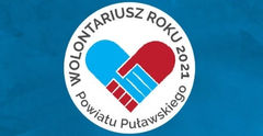 Logo Wolontariusz Roku 2021