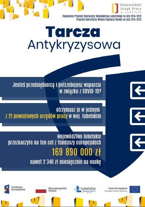 Plakat - Tarcza Antykryzysowa