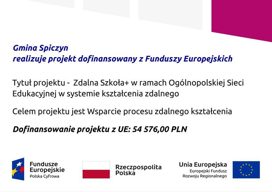Plakat - Zdlna Szkoła +