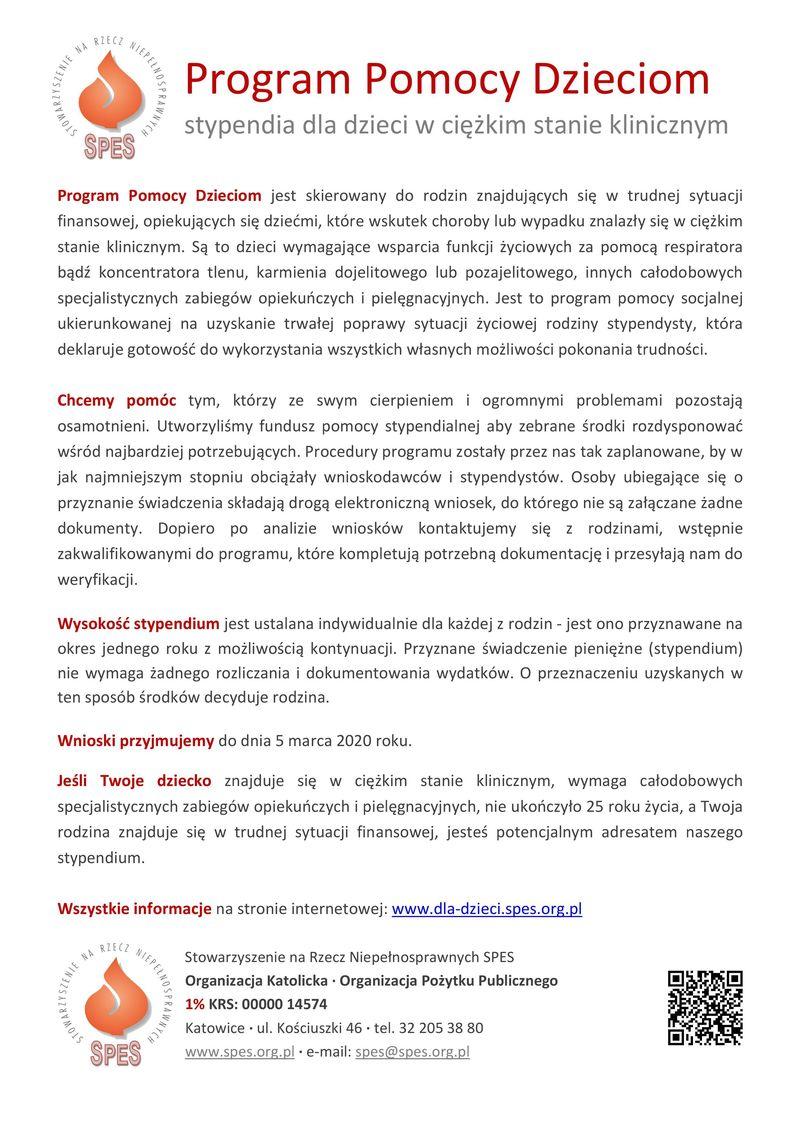 Plik jpg  - Program Pomocy Dzieciom