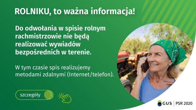 baner: Rolniku to ważna informacja!