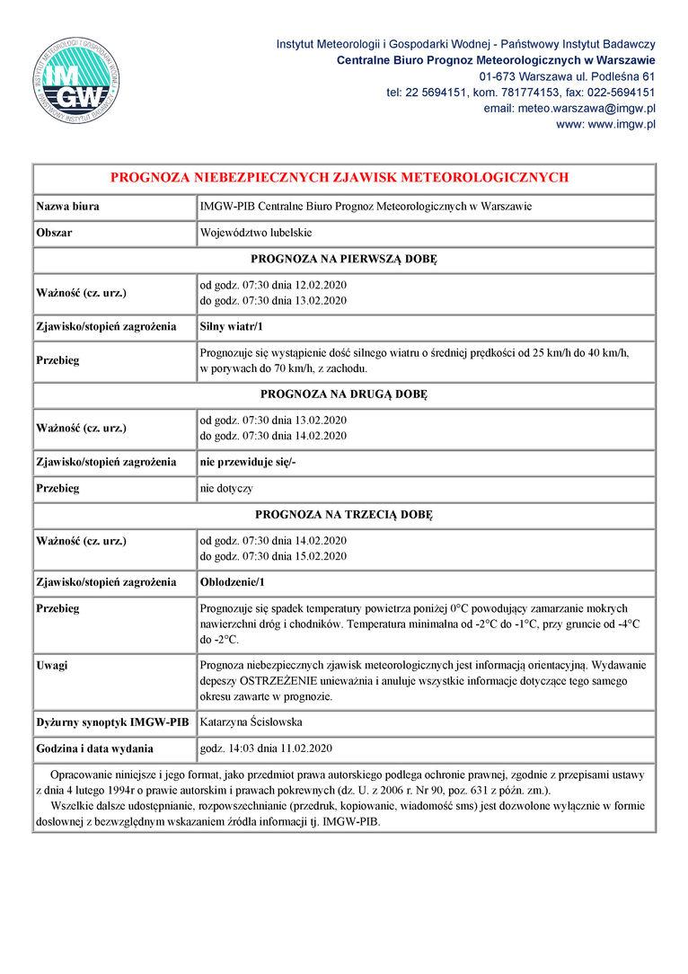 JPG - Prognoza niebezpiecznych zjawisk meterologicznych