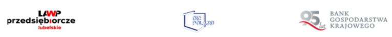 LOGO -  LAWP przedsiębiorcze lubelskie BANK GOSPODARSTWA KRAJOWEGO POLAND